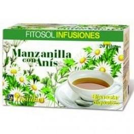 Manzanilla con anís 20 filtros