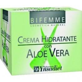 Crema hidratante con aloe vera 50 ml.